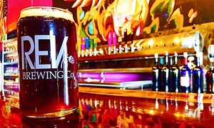 Rev Brewing Co.: Beer Tasting for Two or Four at Rev Brewing Co. (Up to 42% Off)