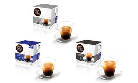 Fino a 288 capsule Dolce Gusto Originali disponibili in 4 aromi da 32,99 €