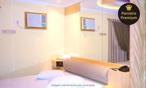Studio Hotel (Motel): Studio Hotel – Santos: período, pernoite, perdia ou diária em suíte com hidro + pizza de mussarela para 2 ou desconto