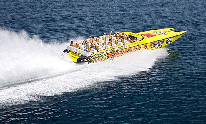 Thriller Boat Tour Miami Groupon