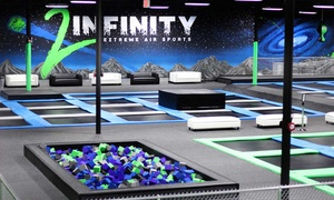 Up to 39% Off Jump Passes Or Party at 2Infinity Extreme Air at 2Infinity Extreme Air Sports, plus 6.0% Cash Back from Ebates.
