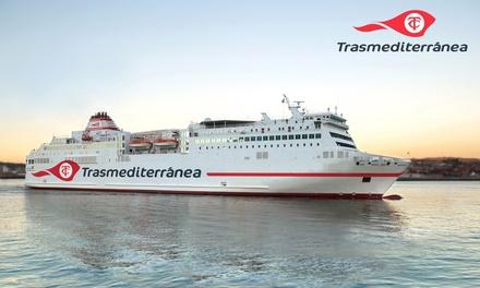 Bono hasta 180€ de descuento ferry de Valencia a Palma o Ibiza con opción coche a bordo en Trasmediterránea
