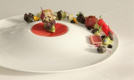 Diner gastronomique en 10 services chez Terborght à Huizingen, près de Bruxelles