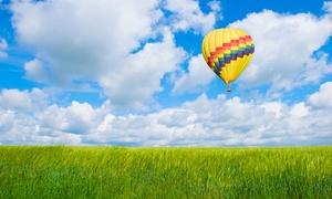 Ballonsport Marl: Wertgutschein über 110 € oder 220 € anrechenbar auf eine Sonnenaufgangsfahrt bei Ballonsport Marl