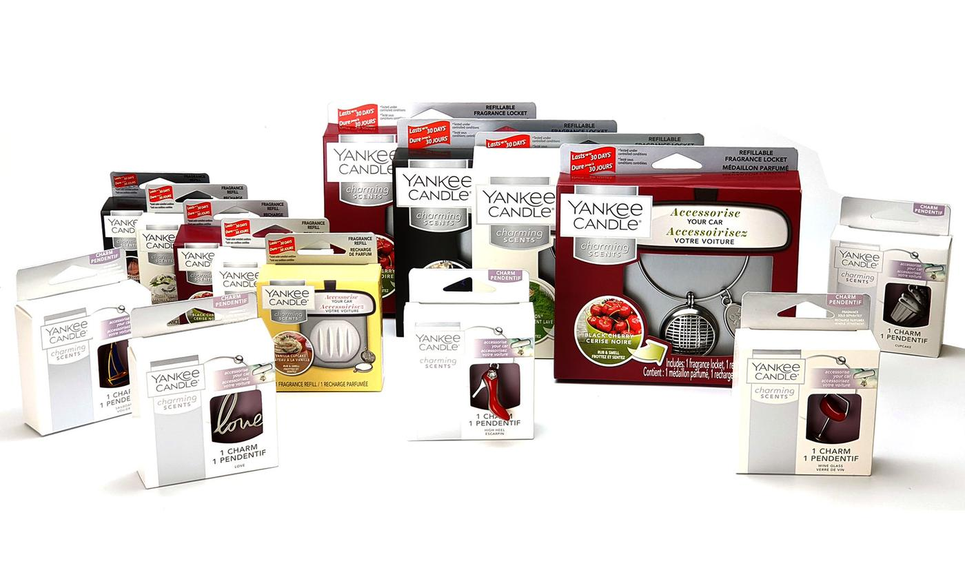Yankee Candle Charming Scents Car Air Fresheners Kit