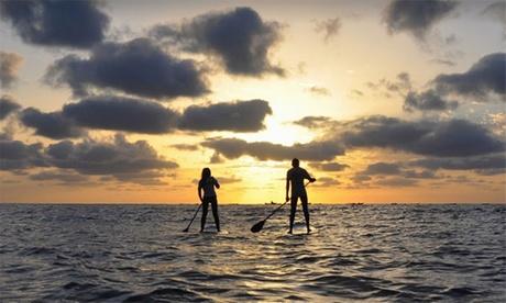 Actividad de Stand Up Paddle para dos personas por 29,95€ en Green Wave