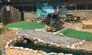 Milperra Putt Putt: 18 Holes of Mini Golf for Two ($10), Three ($13.50) or Four Players ($16) at Milperra Putt Putt (Up to $40 Value)