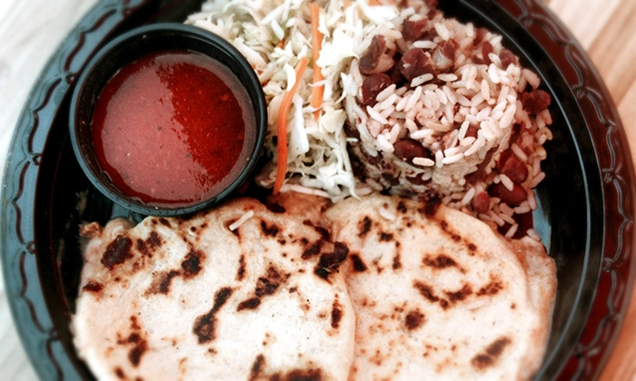 Vchos Truck - Los Angeles: Central American Gourmet for Two or Four at Vchos Truck (41% Off)