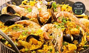 Manjericão e Alecrim: Manjericão e Alecrim – Parque dos Bandeirantes: paella para 6 ou 10 pessoas