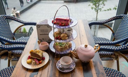 image for Traditional, Sparkling or Cocktail Afternoon Tea for Two at Curious Manor, City Centre (Up to 39% Off)