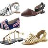 Chelsea Crew Assorted Women's Comfort Flats Sandals