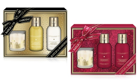 Set de regalo de 3 piezas Bayliss & Harding