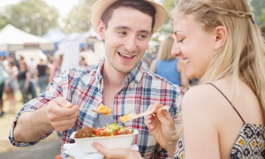 Cheshire food festival: Great British Food Festival: One-Day Entry for Two Adults, Arley Hall and Gardens, 24 - 25 September (50% Off)