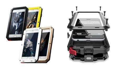 iPhonebeschermhoes van aluminium voor de iPhone 6/6S, 6Plus, 7 en 7 Plus in kleur naar keuze