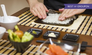 Restaurant Sushi Nanami:  2,5 bis 3 Std. Sushi-Workshop inkl. Getränke für 1 oder 2 Personen im Restaurant Sushi Nanami (bis zu 64% sparen*)