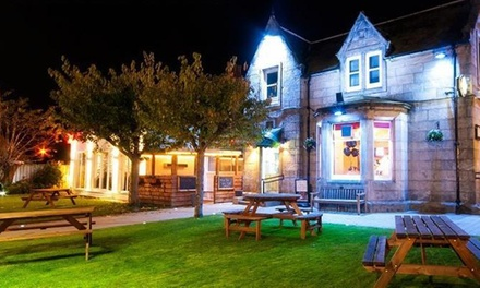 Musselburgh: 1 Night for Two with Breakfast and Late CheckOut; with Option for Dinner and Wine at Ravelston House