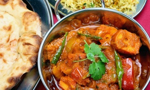 Curry & Crust Indian Cuisine & Desi Pizza: Indian Cuisine and Pizza at Curry & Crust Indian Cuisine & Desi Pizza (Up to 54% Off). Three Options Available.
