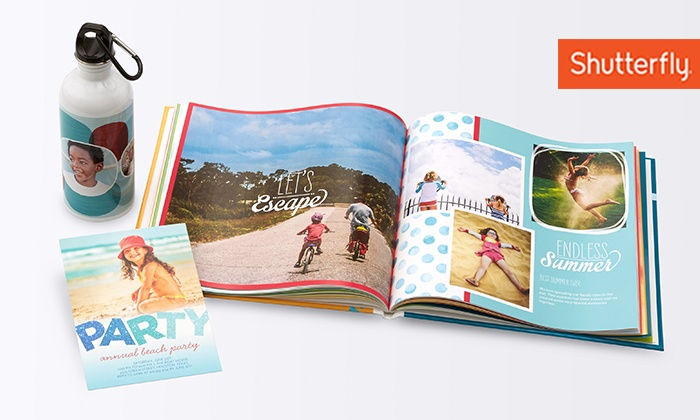 Shutterfly: $20 for $40 to Spend at Shutterfly (50% Off)