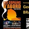 Les Copains d'abord Brassens en tournée