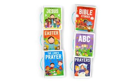 Children's Bible Collection Padded Book Bundle (6-Piece)