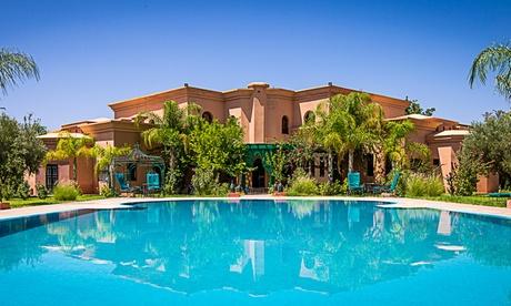 Marrakech: fino a 14 notti con cene marocchine e transfer opzionale al Riad Las Palmeras per 2 adulti e 1 bambino
