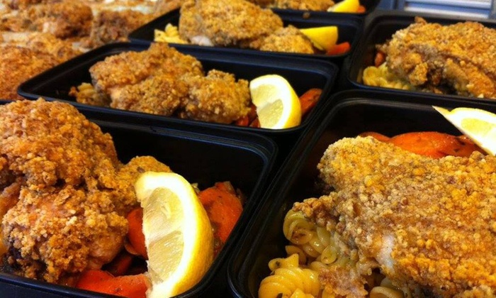 Dine In 2Nite: 3, 5, or 10 Prepared, Delivered Meals from Dine In 2Nite (50% Off)