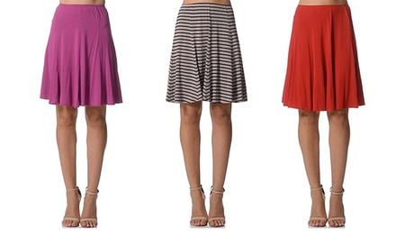 $25 for a Bamboo Fibre High Waisted Flare Skirt