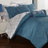 Farnley Reversible Comforter Set with Sheets (10-Piece)