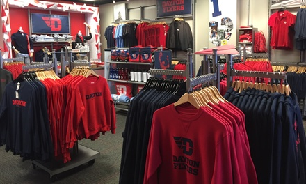 University of Dayton Apparel and Accessories at Flyer Spirit (Up to 43% Off). Two Options Available.