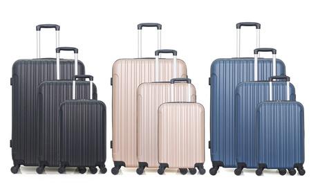 Korting 3 delige kofferset Alpes