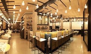 Face Restaurant Fusion Lounge: Menu fusion di 4 portate con flûte o bottiglia di prosecco da Face Fusion Restaurant Lounge (sconto fino a 54%)