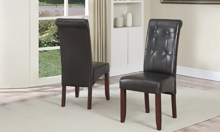 Cosmopolitan Parson Dining Chair (Set of 2)