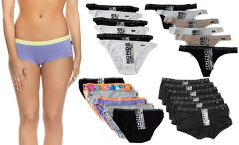 Six-Pack of Bonds Women's Underwear