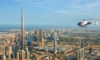 Helicopter Tour Across Dubai departing from Dubai Marina from Heli Dubai