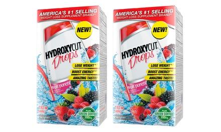 Hydroxycut Fruit Punch Drops (2-Pk)