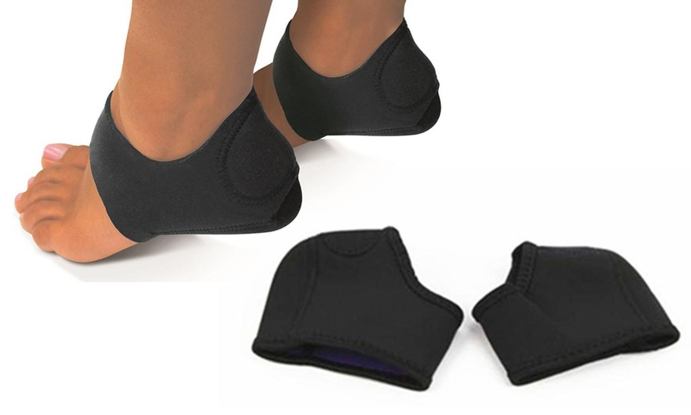 One, Two or Three Pairs of Shock-Absorbing Ankle Wraps