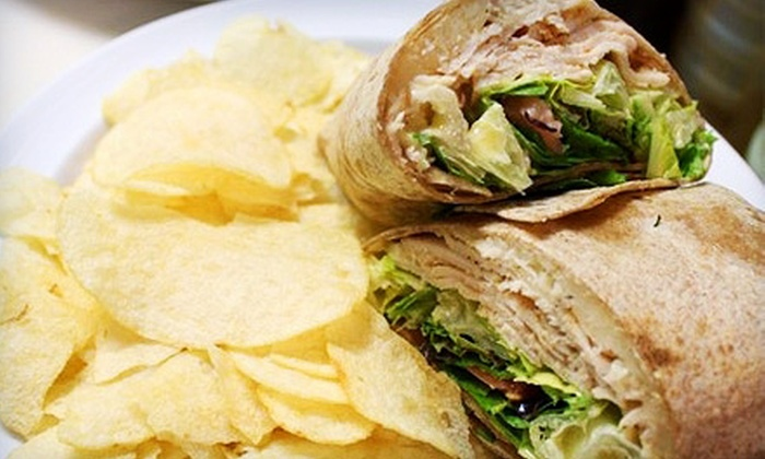 That's A Wrap - Metairie: Sandwich Wraps, Salads, and Drinks at That's A Wrap in Metairie (Up to 53% Off). Two Options Available.