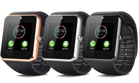 1 o 2 smartwatch multifunzione Smartek con camera 2.0 MP disponibili in 3 colori