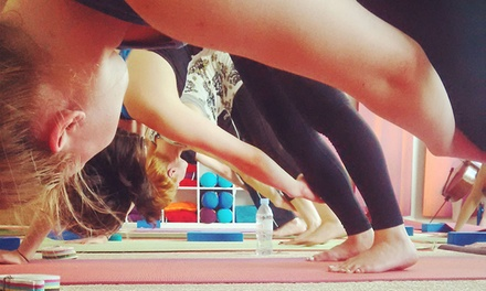 Ten Yoga Classes for One or Two at Red Hot Yoga (Up to 78% Off)
