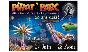 Pirat'Parc: 1 entrée adulte ou enfant valable en semaine ou le weekend dès 16 € au Pirat'Parc
