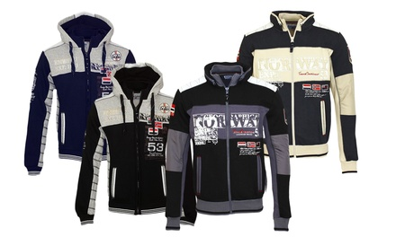 Vestes homme zippées Geographical Norway, modèle au choix à 39,90€ (jusquà 60% de réduction)