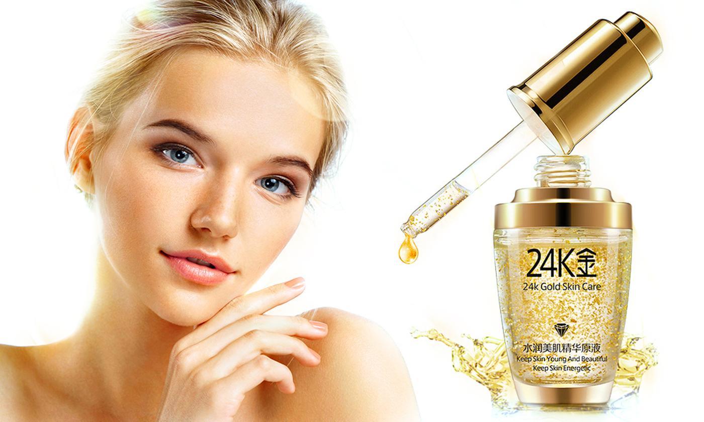 One, Two or Three 24K Gold Collagen Moisturising Liquids
