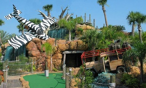 Congo River Adventure Golf: Round of Mini Golf and Gator Food for Two or Four at Congo River Golf (Up to 50% Off)