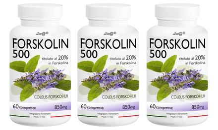 Fino a 360 compresse Forskolin 500 bruciagrassi di ultima generazione