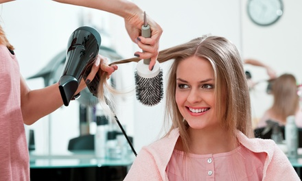 $30 for a Blow-Dry with Keratin Repair Treatment and Scalp Massage at Hair by Rosalinda ($60 Value)