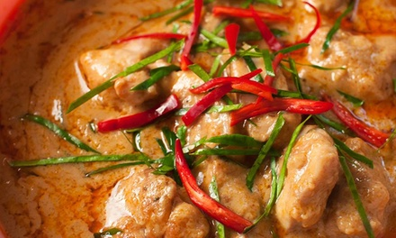 Thai Cuisine and Drinks at Taste of Thai (45% Off). Four Options Available.