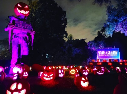 Ticket to The Glow: A Jack O'Lantern Experience (Up to 39% Off). Twenty-Two Options Available.
