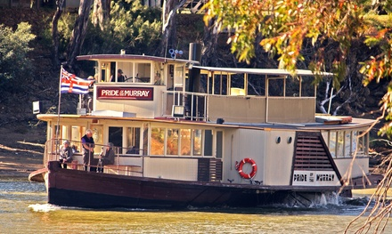 for Child or $12 for Adult for Paddle Steamer Cruise with Murray River Paddlesteamers Up to $80 Value