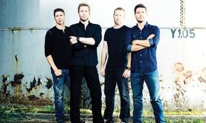 Nickelback Live: Nickelback UK Tour 2016, One Ticket, 12-25 October, Nine Locations