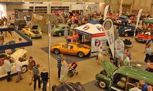 The Footman James 36th Bristol Classic Car Show: Footman James 37th Bristol Classic Car Show: Entry For One or Two (Up to 36% Off)